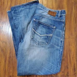 BKE Jeans Mens Welder Vintage denim 36 x 31 Buckle
